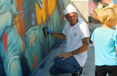 "Nasimo in an interview with Investor.bg: ""Graffiti has a place in the urban environment"""