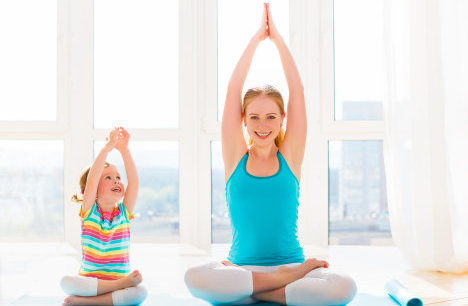 How to stay active with kids at home