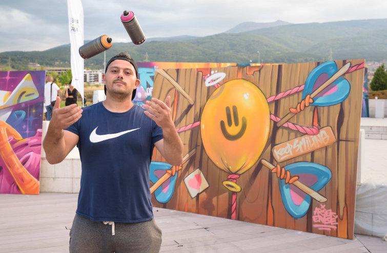 AРТ Графити Брънч с Nasimo и River Park