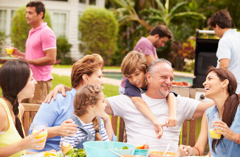 Being part of a community: Host a fun family day this summer