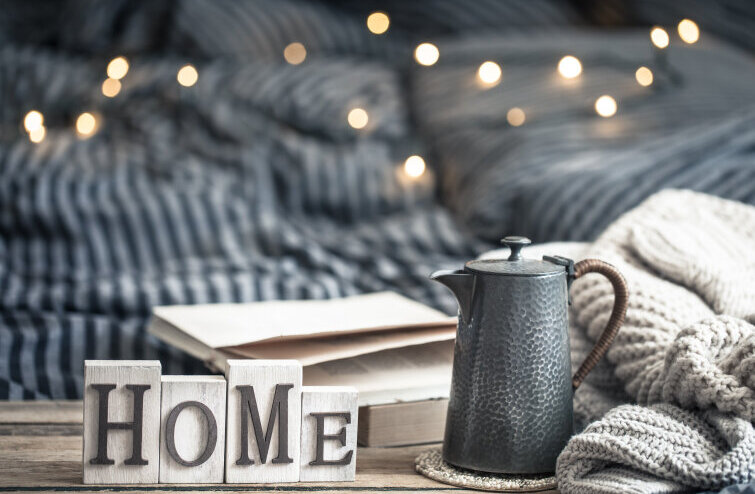 Cozy house: adding warmth to the home