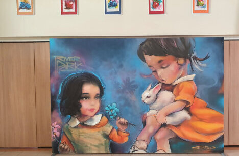River Park donates Paintings by some of the best Graffiti Artists to Schools and Kindergartens in Sofia
