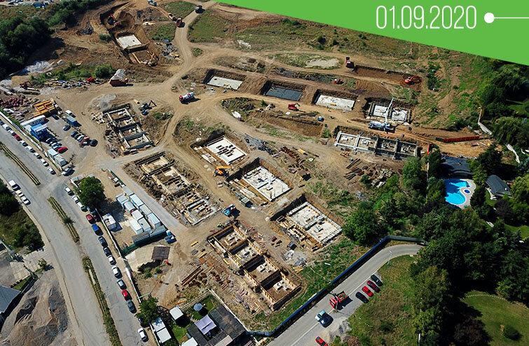70 къщи от първата фаза на River Park вече са в строеж