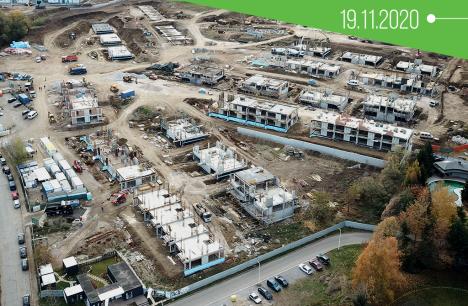 Напредък в строежа на River Park