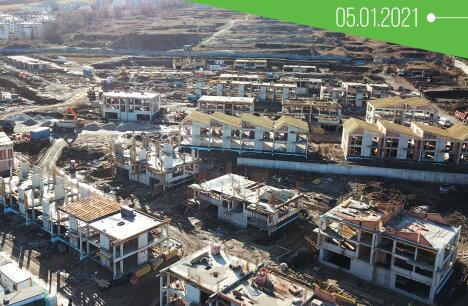 14 къщи в River Park вече са построени до покрив