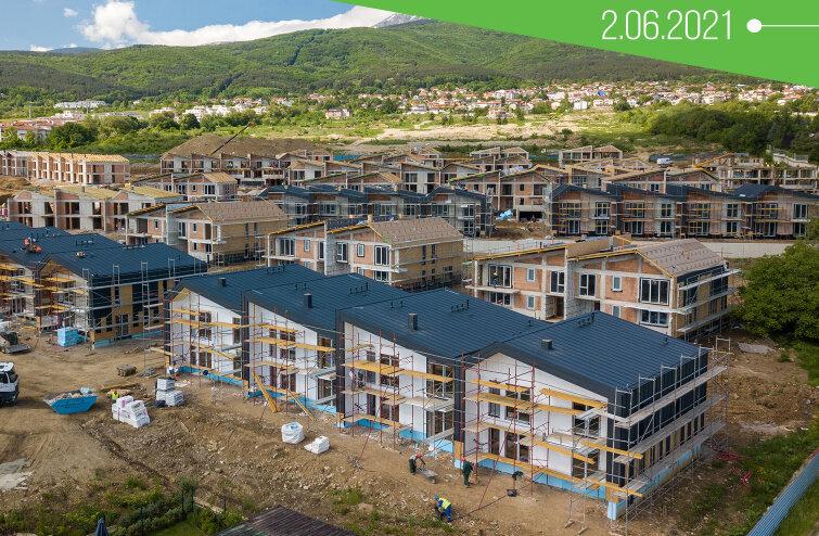 47 къщи в River Park с Акт 14